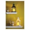 Kép 5/6 - EMOS LED dekoráció lámpa, antik, fehér, villogó, 3x AAA, beltéri, vintage, időzítő
