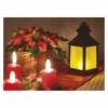 Kép 2/5 - EMOS LED dekoráció 6 db lámpa, opál, fekete, 6x3 AAA, beltéri, vintage, időzítő