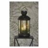 Kép 5/6 - EMOS LED dekoráció karácsonyi lámpa gyertyákkal, fekete, 35,5 cm, 3x AAA, beltéri, vintage