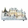 Kép 1/8 - EMOS LED karácsonyi házikó, 20 cm, beltéri, meleg fehér