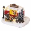 Kép 2/7 - EMOS LED karácsonyi autó, 13.7 cm, 3x AA, beltérre, meleg fehér
