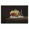 Kép 6/7 - EMOS LED karácsonyi autó, 13.7 cm, 3x AA, beltérre, meleg fehér