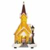 Kép 1/8 - EMOS LED karácsonyi havas templom, 26 cm, 3x AA, beltérre, meleg fehér