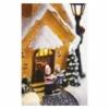 Kép 6/8 - EMOS LED karácsonyi havas templom, 26 cm, 3x AA, beltérre, meleg fehér