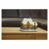 Kép 5/6 - EMOS LED karácsonyi házikó, 20.5 cm, 3x AA, beltérre, meleg fehér