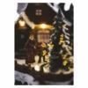 Kép 5/7 - EMOS LED karácsonyi falu, 15 cm, 3x AA, beltérre, meleg fehér
