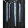 Kép 5/6 - EMOS LED karácsonyi fényfüzér 10 db jégcsap, 3,6 m, kültéri és beltéri, hideg fehér, IP44