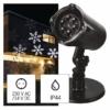Kép 2/11 - EMOS LED dekoráció projektor hópelyhek, kültéri és beltéri, hideg fehér, IP44