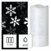 Kép 1/2 - EMOS LED dekoráció projektor hópelyhek, 3x AAA beltéri, hideg fehér