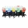 Kép 2/6 - EMOS LED fényfüzér, 10 db party égő, 5 m, kültéri és beltéri, többszínű