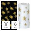 Kép 2/8 - EMOS LED dekoráció projektor csillagok, 3x AAA beltéri, meleg fehér