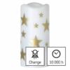 Kép 6/8 - EMOS LED dekoráció projektor csillagok, 3x AAA beltéri, meleg fehér