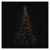 Kép 6/8 - EMOS LED karácsonyfa, fém, 180 cm, kültéri és beltéri, meleg fehér, időzítő