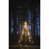 Kép 7/8 - EMOS LED karácsonyfa, fém, 180 cm, kültéri és beltéri, meleg fehér, időzítő