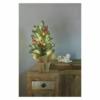 Kép 4/5 - EMOS LED karácsonyfa, havas, 52 cm, 3x AA, beltéri, meleg fehér, időzítő