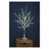Kép 5/6 - EMOS LED karácsonyfa, havas, 60 cm, 3x AA, beltéri, meleg fehér, időzítő