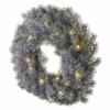 Kép 2/6 - EMOS LED dekoráció adventi koszorú, 40 cm, 2x AA, beltéri, meleg fehér, időzítő