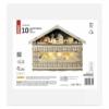 Kép 4/8 - EMOS LED adventi naptár, fa, 40x50 cm, 2x AA, beltéri, meleg fehér, időzítő