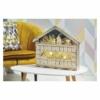 Kép 7/8 - EMOS LED adventi naptár, fa, 40x50 cm, 2x AA, beltéri, meleg fehér, időzítő