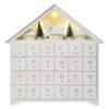 Kép 1/8 - EMOS LED adventi naptár, fa, 35x33 cm, 2x AA, beltéri, meleg fehér, időzítő