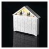 Kép 6/8 - EMOS LED adventi naptár, fa, 35x33 cm, 2x AA, beltéri, meleg fehér, időzítő