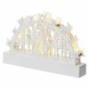 Kép 2/7 - EMOS LED karácsonyi betlehem, fa, 14 cm, 3x AA, beltéri, meleg fehér, időzítő