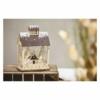 Kép 6/7 - EMOS LED karácsonyi házikó, fa, 30 cm, 2x AA, beltéri, meleg fehér, időzítő