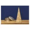 Kép 6/7 - EMOS LED piramis, fa, 36 cm, 2x AA, beltéri, meleg fehér, időzítő