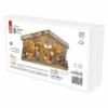 Kép 4/7 - EMOS LED karácsonyi betlehem, fa, 19 cm, 3x AA, beltéri, meleg fehér, időzítő
