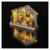 Kép 5/7 - EMOS LED karácsonyi betlehem, fa, 19 cm, 3x AA, beltéri, meleg fehér, időzítő