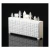 Kép 4/6 - EMOS LED adventi naptár, fa, 23x37 cm, 2x AA, beltéri, meleg fehér, időzítő