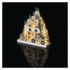 Kép 5/7 - EMOS LED karácsonyi tájkép, fa, 22 cm, 2x AA, beltéri, meleg fehér, időzítő