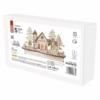 Kép 4/7 - EMOS LED dekoráció, fa behavazott templom, 15 cm, 2x AA, beltéri, meleg fehér, időzítő
