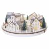 Kép 3/9 - EMOS LED karácsonyi falu, kör, 2x AA, beltérre, meleg fehér, időzítő