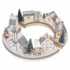 Kép 5/9 - EMOS LED karácsonyi falu, kör, 2x AA, beltérre, meleg fehér, időzítő