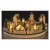 Kép 7/9 - EMOS LED karácsonyi falu, kör, 2x AA, beltérre, meleg fehér, időzítő