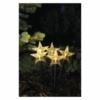 Kép 5/7 - EMOS LED karácsonyi leszúrható csillagok, 30 cm, kültéri és beltéri, meleg fehér, időzítő