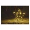 Kép 6/7 - EMOS LED karácsonyi csillag, fém, 56 cm, kültéri és beltéri, meleg fehér, IP44