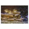 Kép 6/7 - EMOS LED dekoráció leszúrható világító fenyőágak, kültéri és beltéri, meleg fehér, időzítő, IP44
