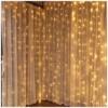 Kép 1/2 - Entac Karácsonyi Függöny IP44 150 LED 1.5x1.5m 8 funkció