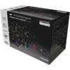 Kép 1/2 - Entac Karácsonyi IP44 240 LED Sorolható Füzér MC 24m szett adapterrel