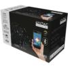 Kép 1/2 - Entac Karácsonyi IP44 Fényfüzér 120 LED CW 9m BT aplikáció
