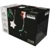 Kép 2/2 - Entac Karácsonyi Beltéri Színes Csillag 60mm Füzér 10 LED WW 1,65m (2AA nt.)