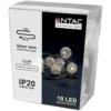 Kép 1/2 - Entac Karácsonyi Beltéri Füzér Áttetsző Műanyag golyó 10 LED WW 1m (2AA nt.)