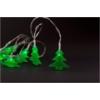 Kép 1/2 - Entac Karácsonyi Beltéri PVC Zöld Fenyőfa 10 LED 1,65m (2AA nt.)