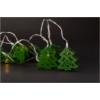 Kép 1/2 - Entac Karácsonyi Beltéri Fa Karácsonyfa Zöld 10 LED WW 1,65m (2AA nt.)