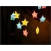 Kép 2/3 - Entac Karácsonyi Beltéri Füzér Színes csillagok 1,65m (2AA nt.)