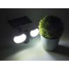 Kép 10/11 - Entac Napelemes Műanyag Fali lámpa 10W SMD 2 fej mozgásérzékelővel