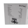 Kép 4/11 - Entac Napelemes Műanyag Fali lámpa 10W SMD 2 fej mozgásérzékelővel