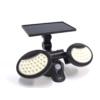 Kép 5/11 - Entac Napelemes Műanyag Fali lámpa 10W SMD 2 fej mozgásérzékelővel